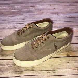 Mens Polo Ralph Lauren Vaughn Canvas Shoes